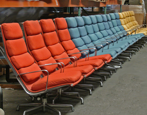 Totally cool chairs in a rainbow of colors