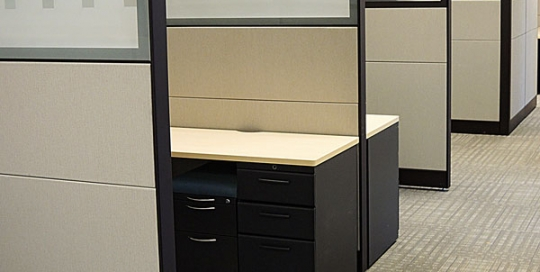 Teknion Leverage Workstations