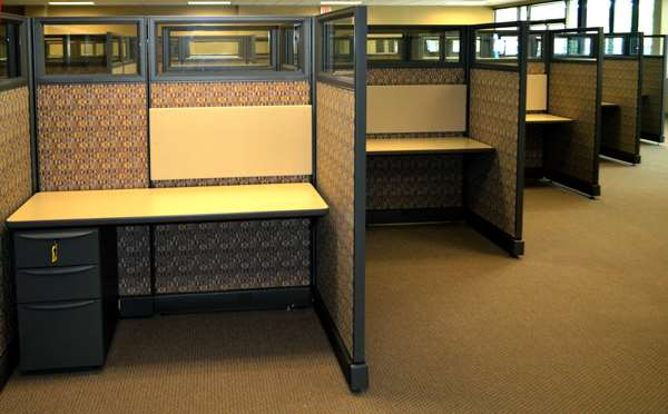 Refurbished Herman Miller Action Office Series Workstations in ...
