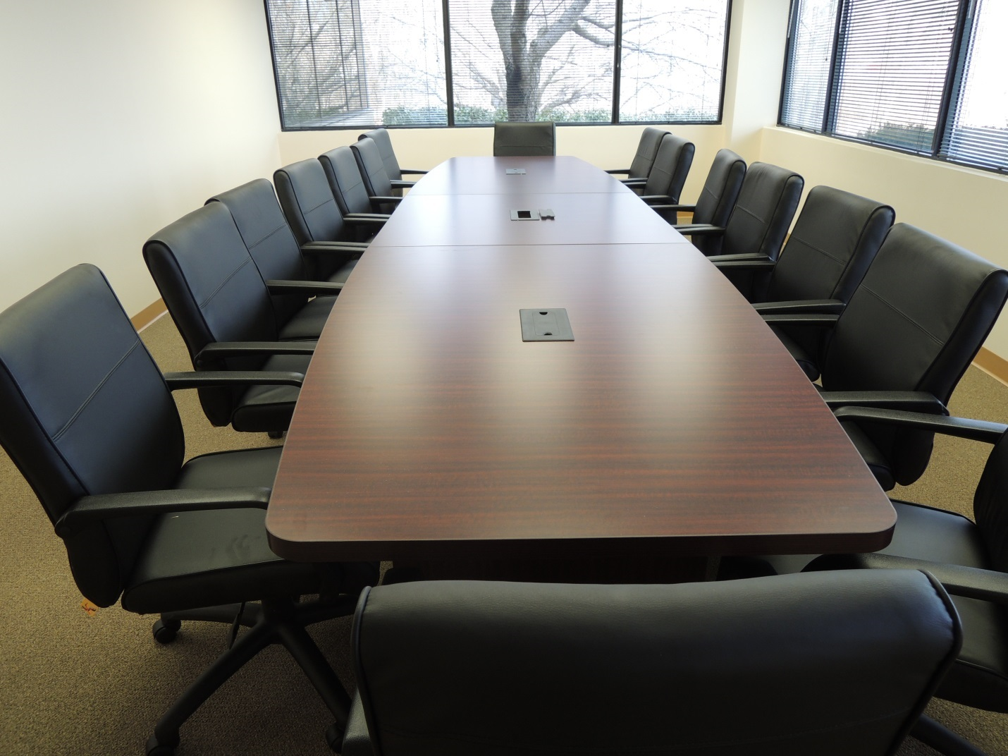 Remanufactured Haworth Workstations Woodlawn MD ReForm - Office source conference table