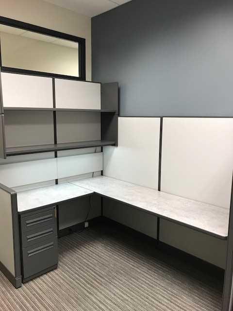 Remanufactured Haworth Unigroup Workstations