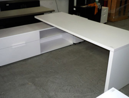 Knoll Desk, 42″ Left Hand Return