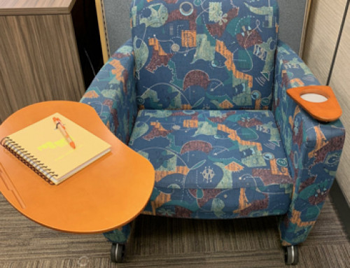 Reupholstered  Haworth ToDo Club Chairs – Hunt Valley, MD