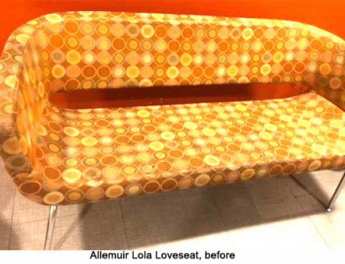 Reupholstered Family Waiting Room Seating – Baltimore, MD