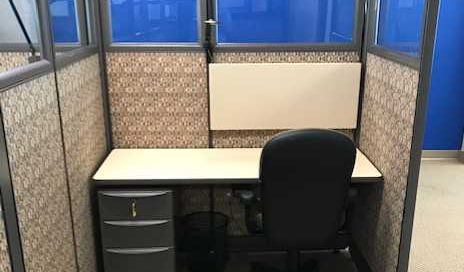 As Is Herman Miller Action Office Series 2 Workstations