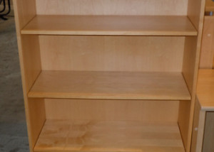 AS IS Teknion Bookcase With 3 Adjustable Shelves