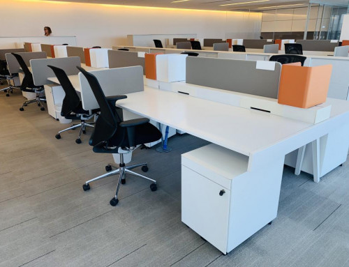 Used Workstations : Vitra Benching Systems