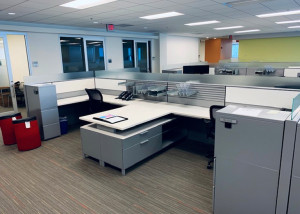 AS IS Herman Miller Canvas 8x6 Workstations