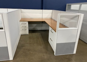 Pre-owned Haworth Compose 6x8 Workstations