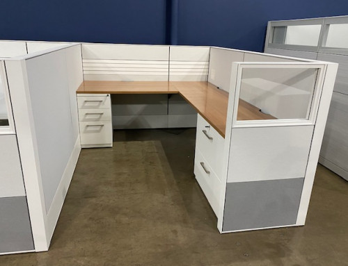 Pre-Owned Haworth Compose 6×8 Workstations